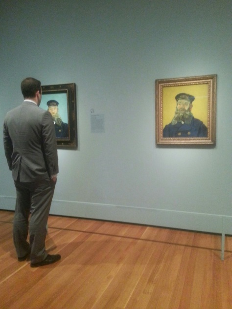 Checking out the pretty awesome Van Gough exhibit at the Cleveland Art museum