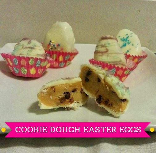 cookie dough easter eggs - i crashed the webi
