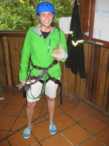 ready to zipline!