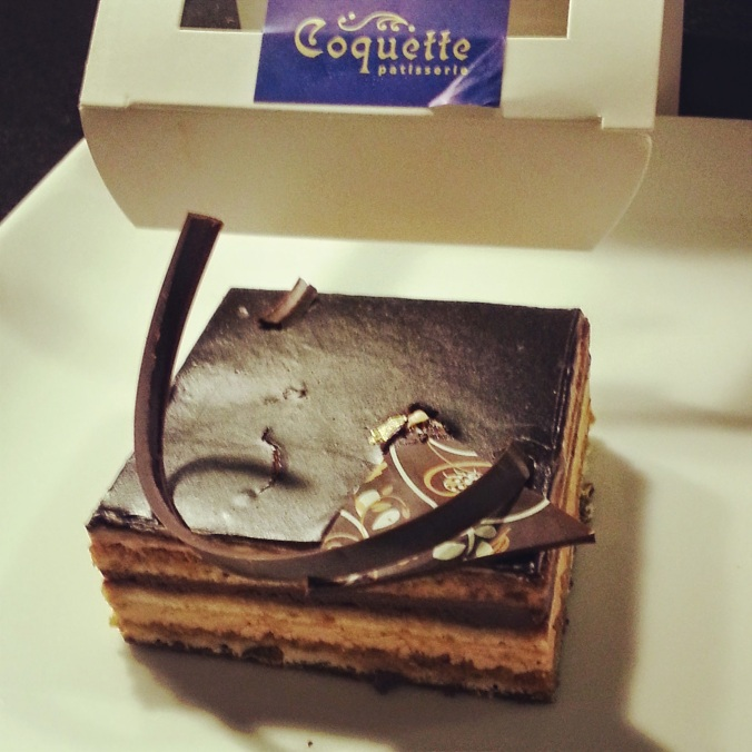 Dessert from Coquette Patisserie