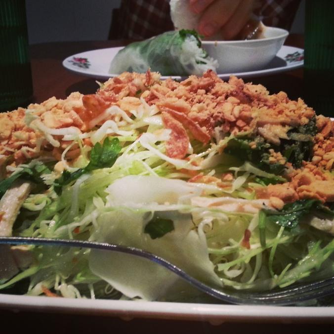 my favorite salad at Superior Pho