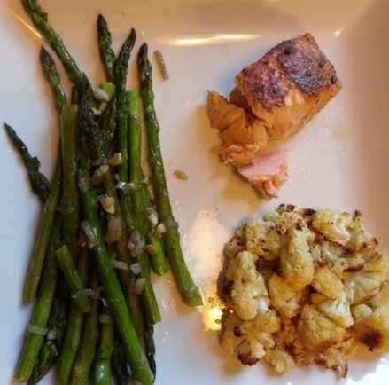 B made me dinner ... again!