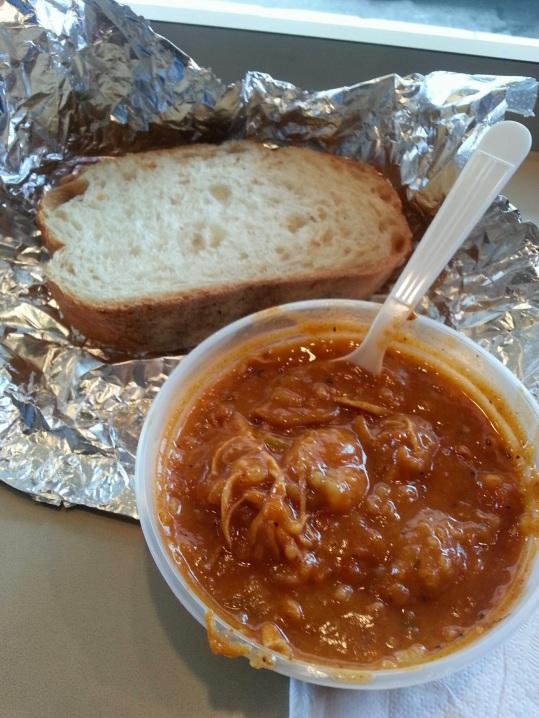 Jambalaya soup @ Souper Market