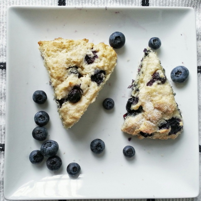 blueberry buttermilk scones - i crashed the web