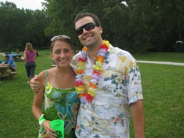 2008 Luau - don't we look the same?