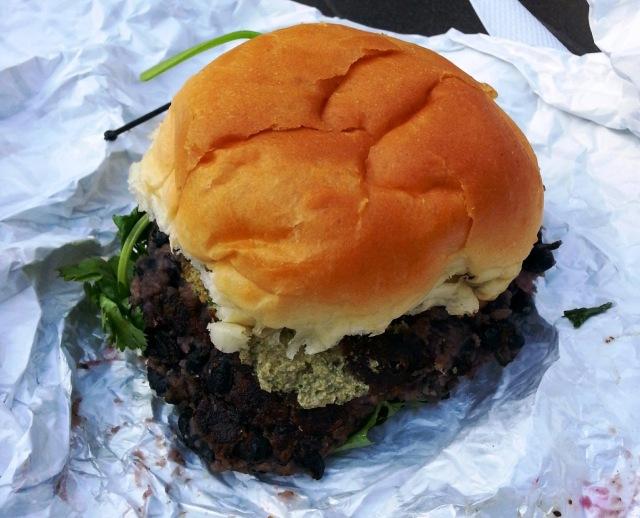 dynomite veggie burger