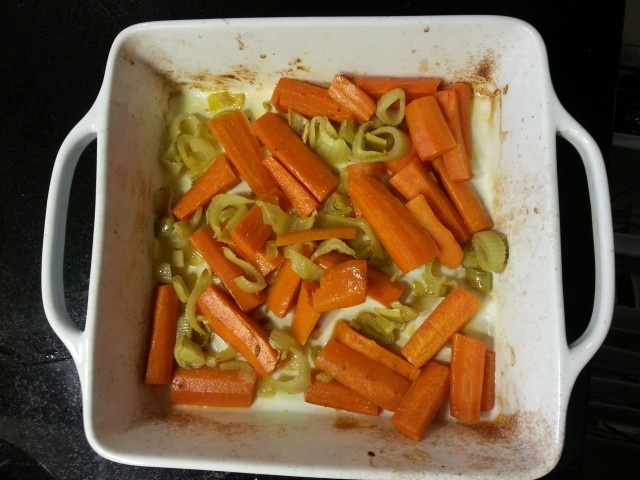 Roasted Fennel and Carrots - i crashed the web