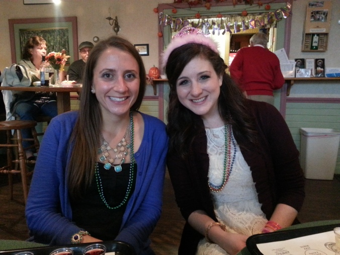 Me and the gorgeous bride-to-be! Can't believe she's getting married in a week!!