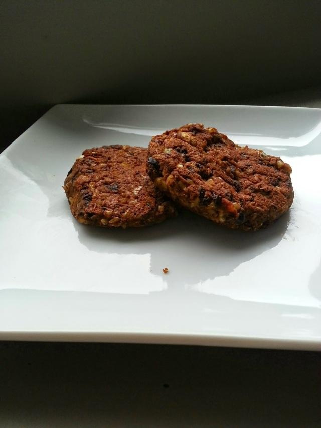 veggie burgers for the week