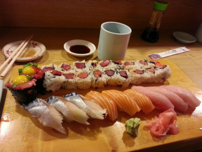 Does anyone know what the raw egg on top of the fish on the top left is ? It was amazing...