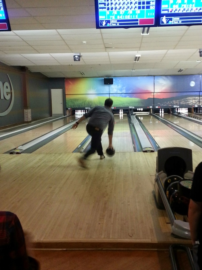 B - the bowling all star (he made it into the finals this year!)
