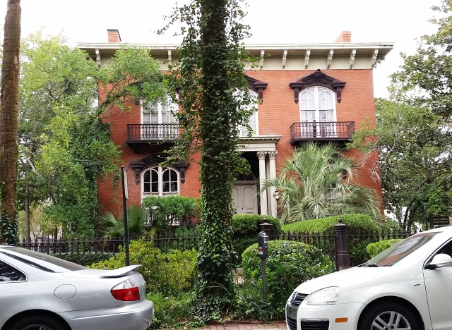 The infamous Mercer Williams house in Savannah