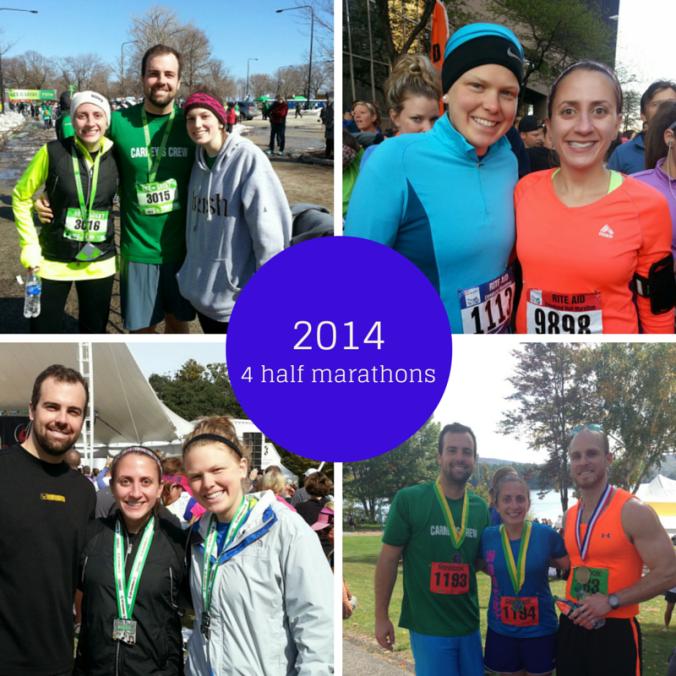 2014 running recap