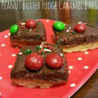 Peanut Butter Fudge Caramel Bars