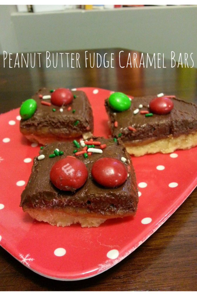 Peanut Butter Fudge Caramel Bars (1)
