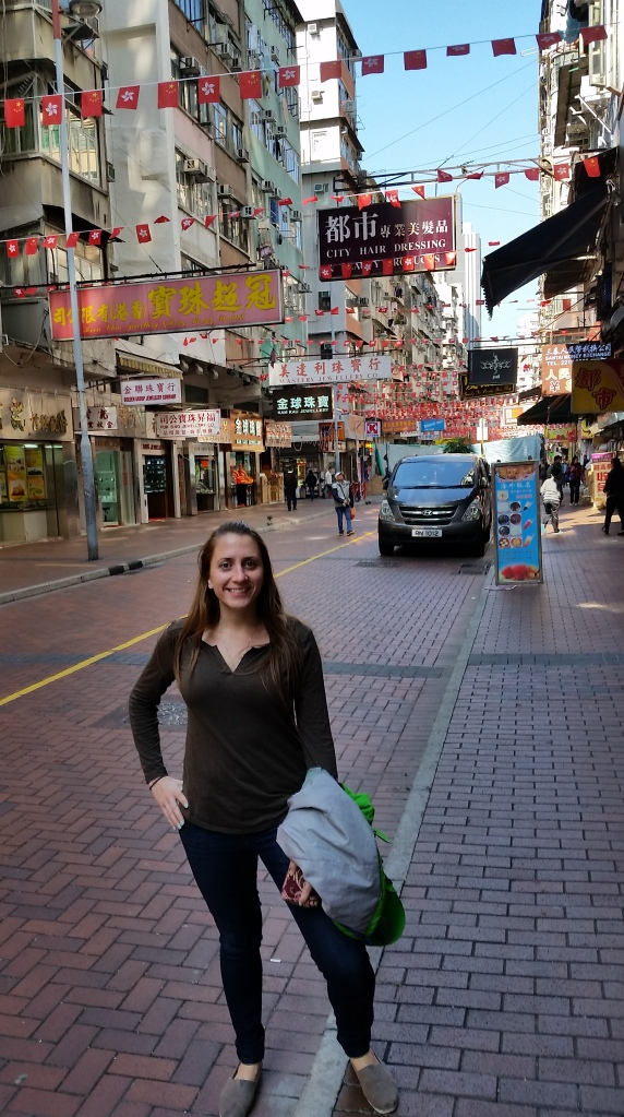 Walking around Kowloon