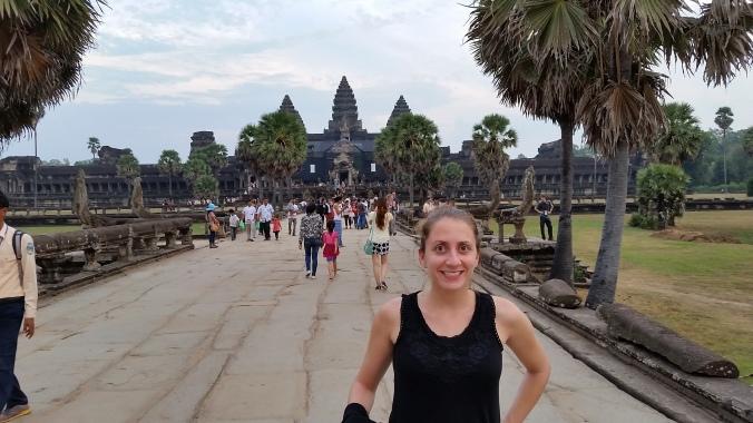 The famous Angkor Wat