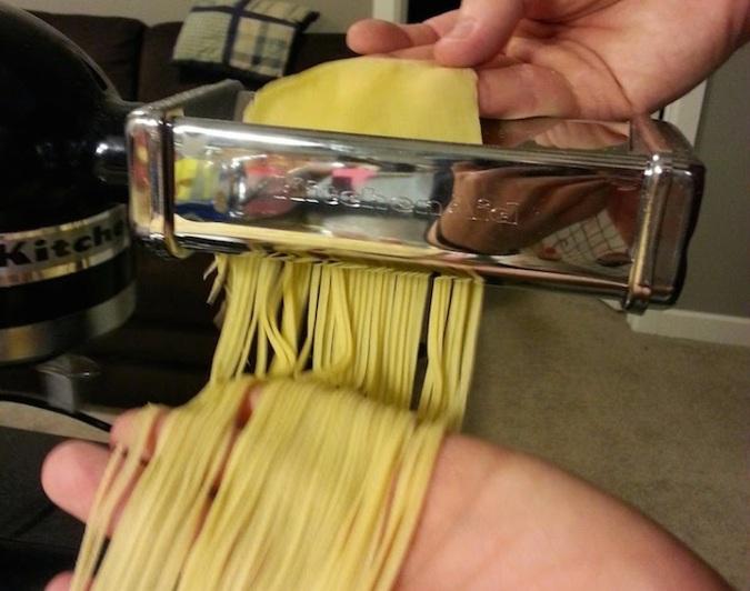 Pasta making experts.