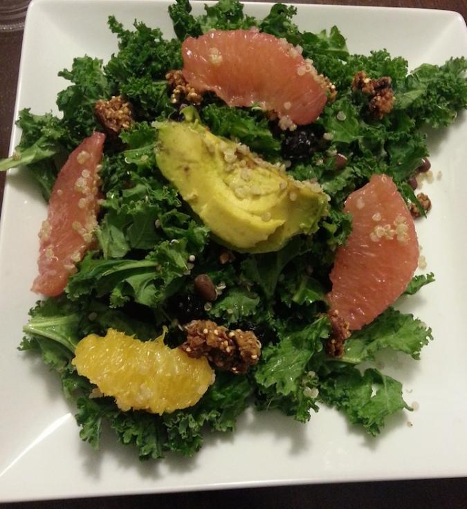Noodlecat's Super Salad.