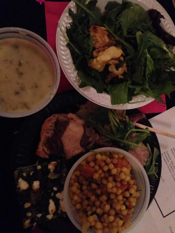 Some of the delicious food we feasted on