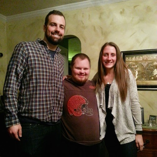 B, me and the birthday boy!