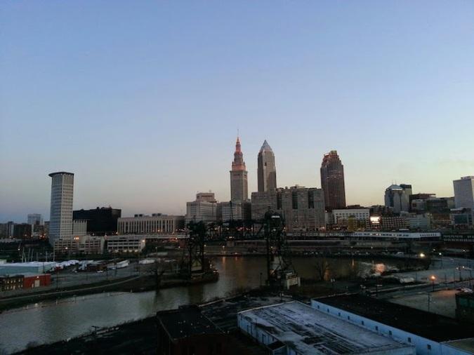 Cleveland waking up!