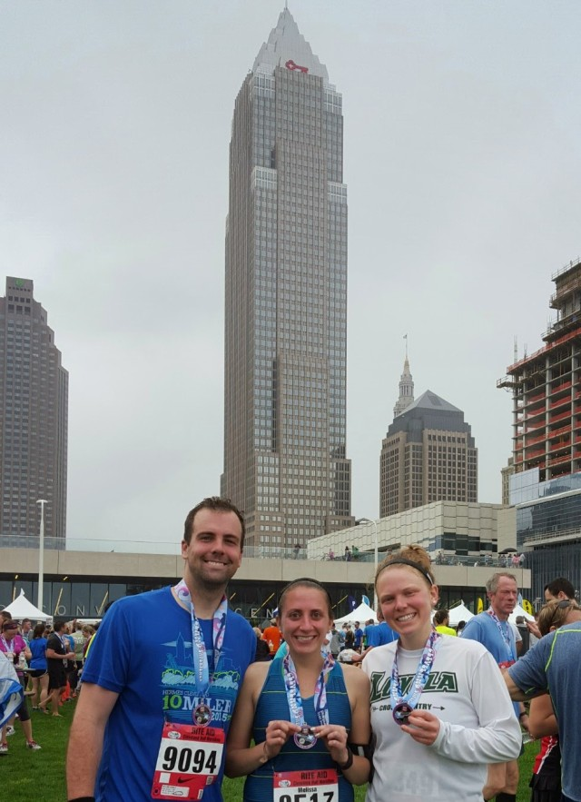 Post race with B and Mary