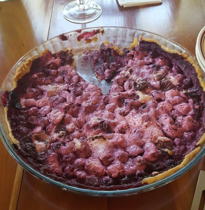 My sister-in-law made a berry pie ;)