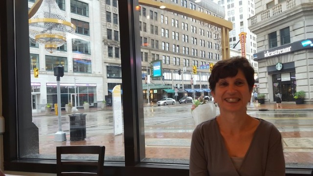 beautiful momma (and icky rain)
