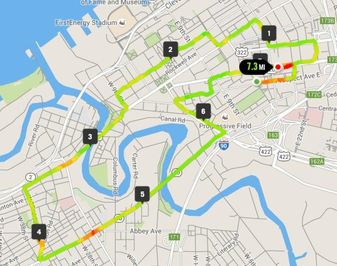 7 miler