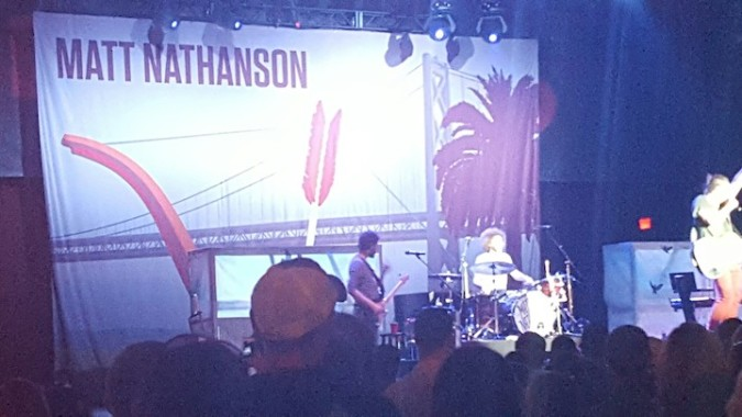 Rocked out to Matt Nathanson