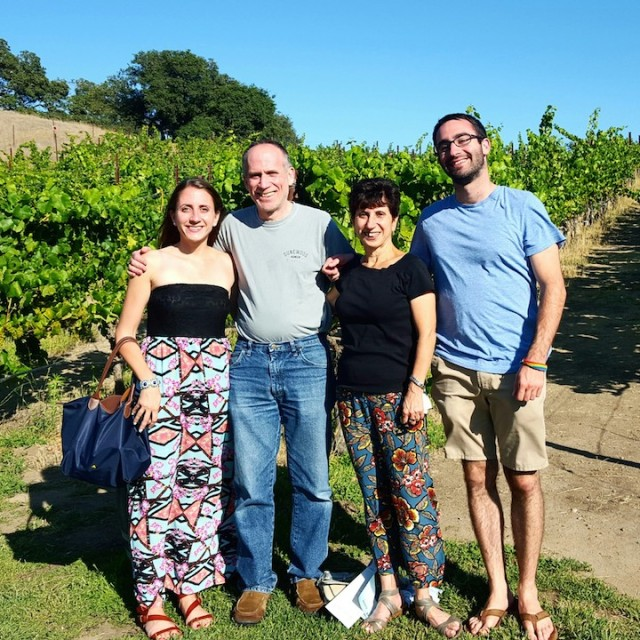 Family at winery #2