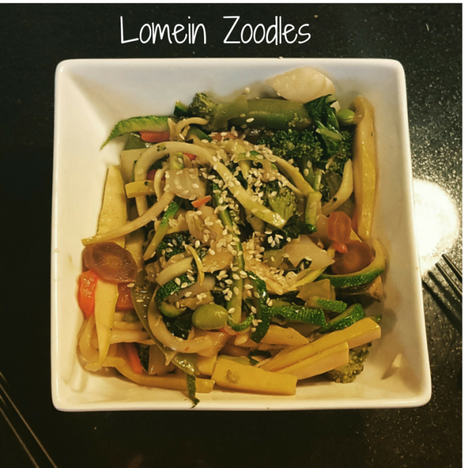 Lomein Zoodles - ictw