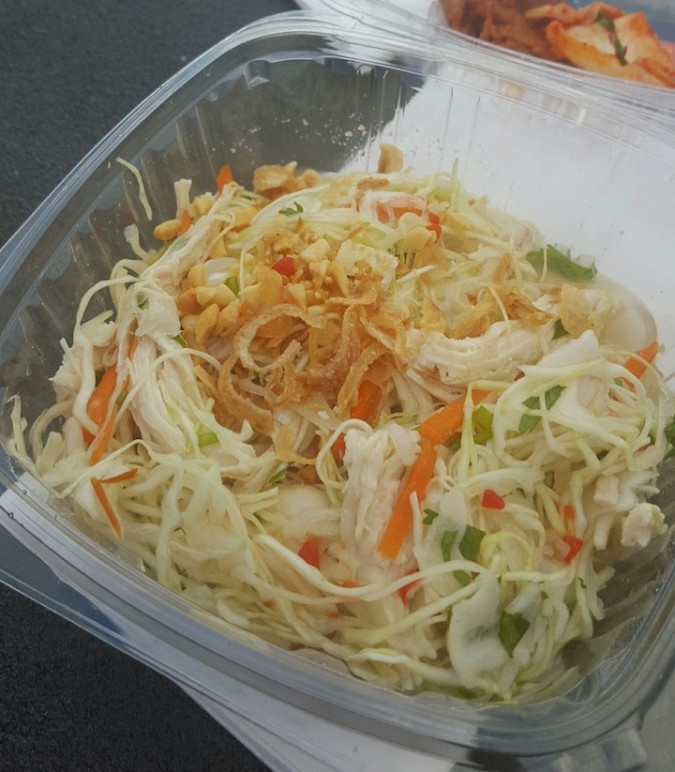 my vietnamese cabbage salad