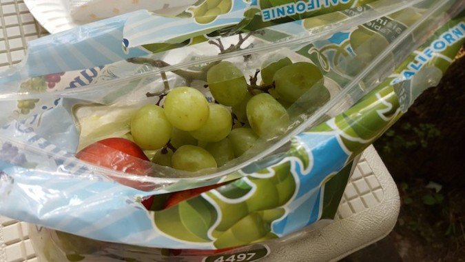 i ate these grapes all weekend