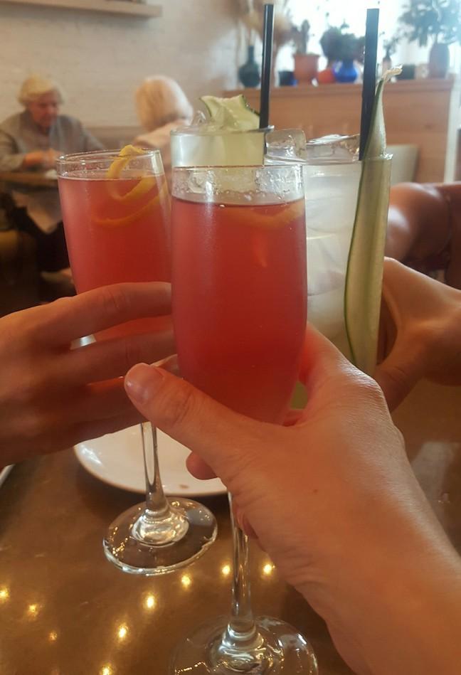 drinks at shaya
