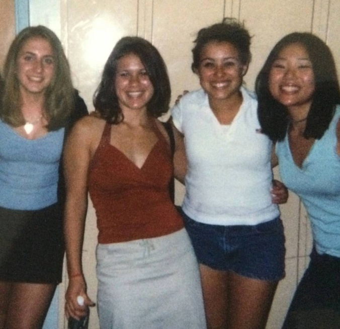 Friends for 17 years! This was approximately 12 years ago ...