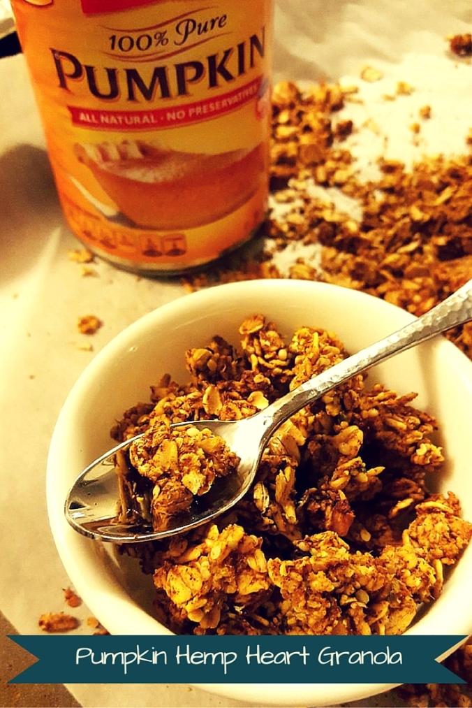 pumpkin hemp heart granola |icrashedtheweb.jpg