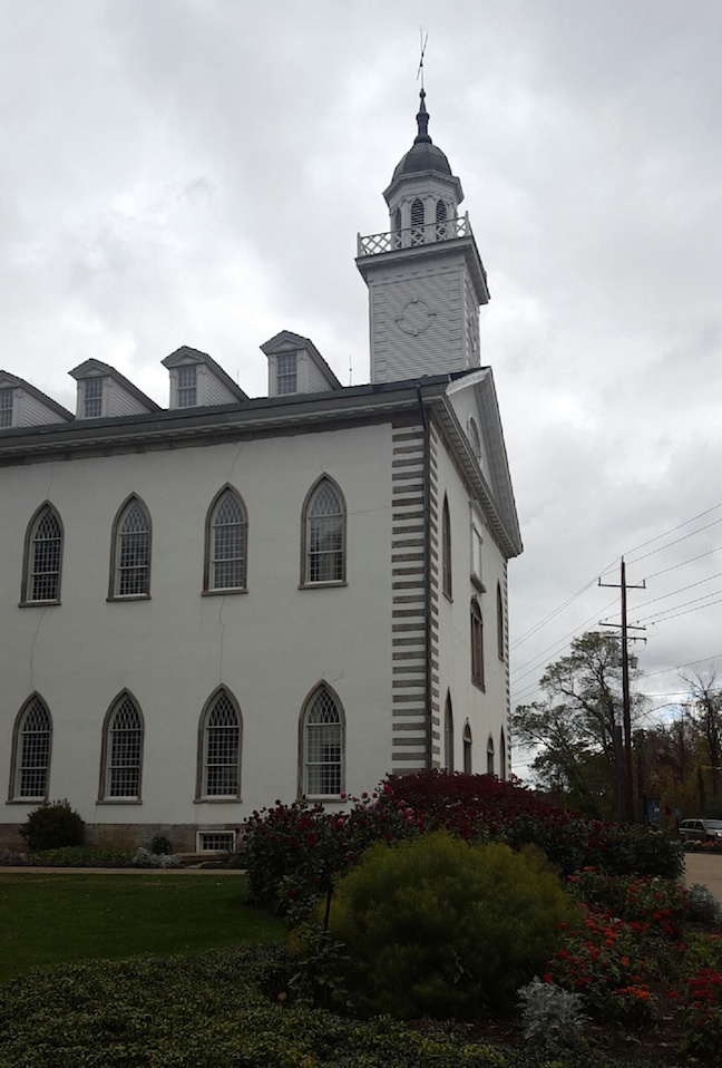 the first Mormon church