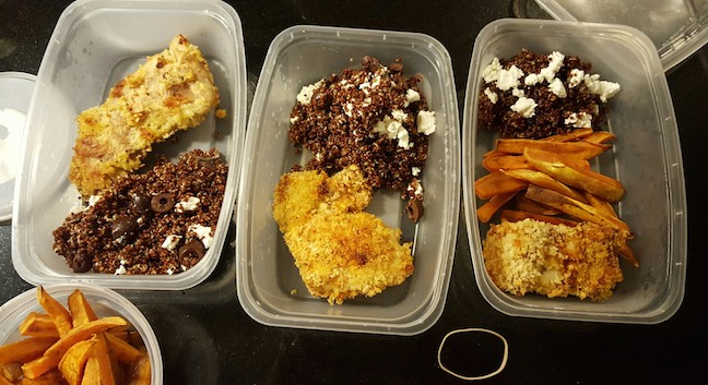 a few days of lunches