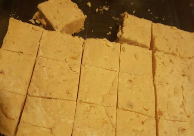 homemade peanut butter fudge!