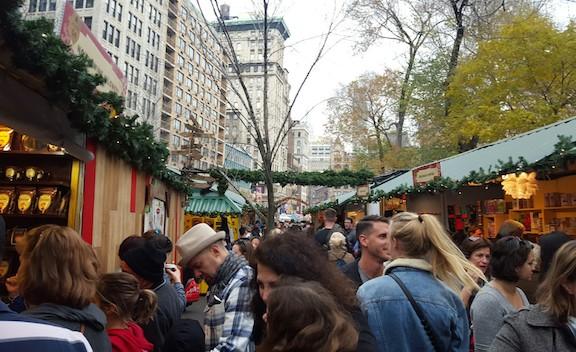 super crowded markets