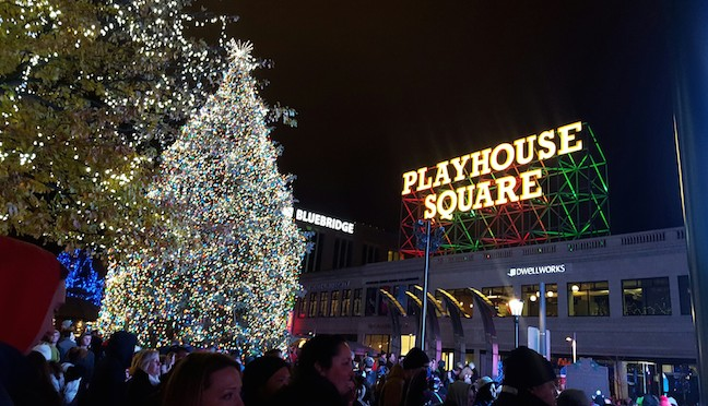 lights in playhouse square
