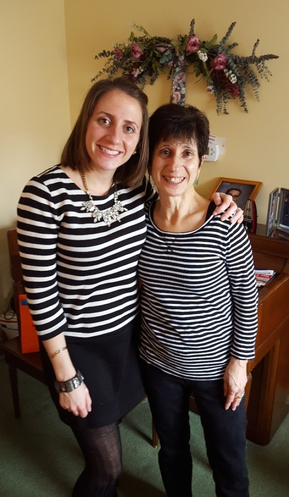 mother daughter stripes