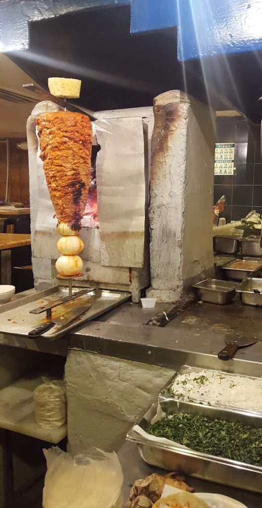 tacos al pastor - featuring this amazing meat