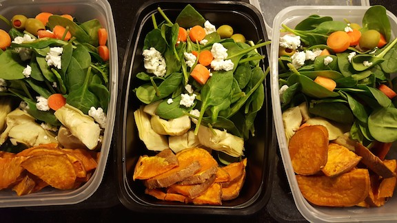 salads for this week!