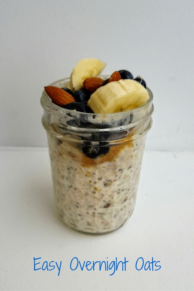 Easy Overnight Oats - icrashedtheweb
