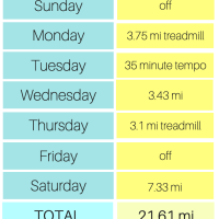 Cleveland Half Marathon Training: Week Four