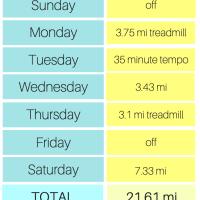 Cleveland Half Marathon Training: Week Four
