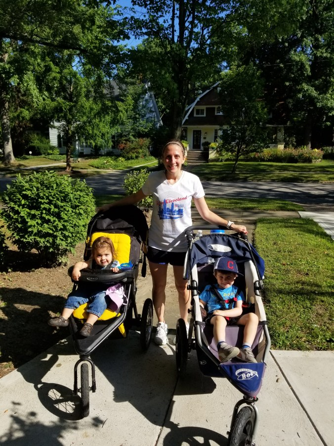 running with the BOB stroller